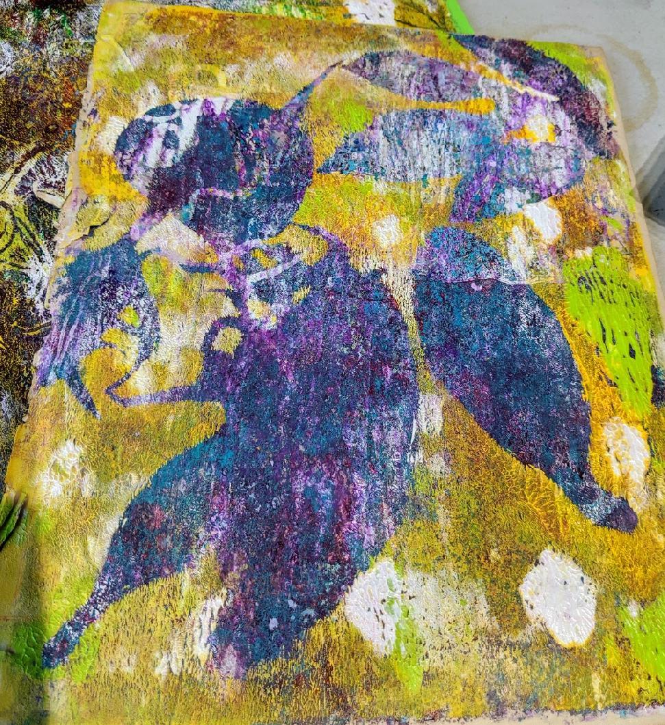 143: Nature Print/Gel Plate