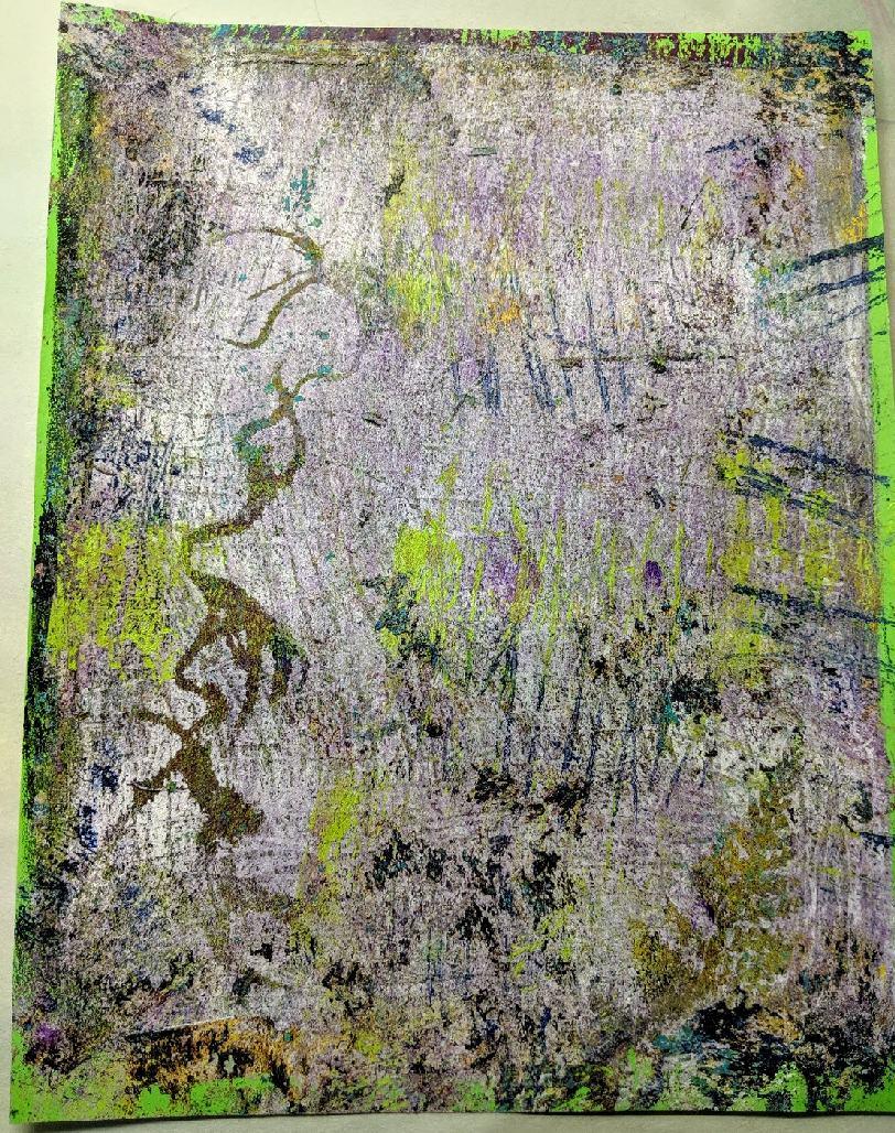 145: Nature Print/Gel Plate
