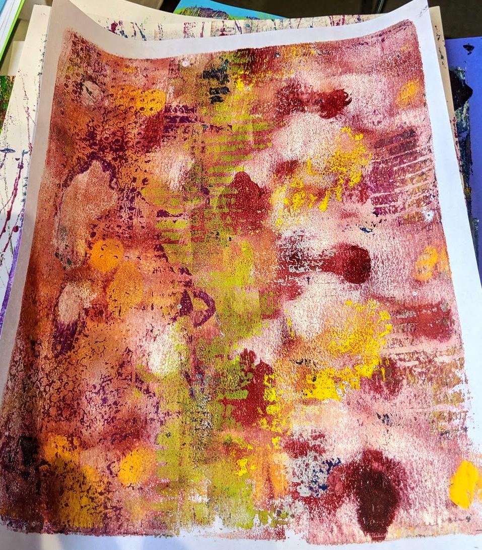 146: Nature Print/Gel Plate