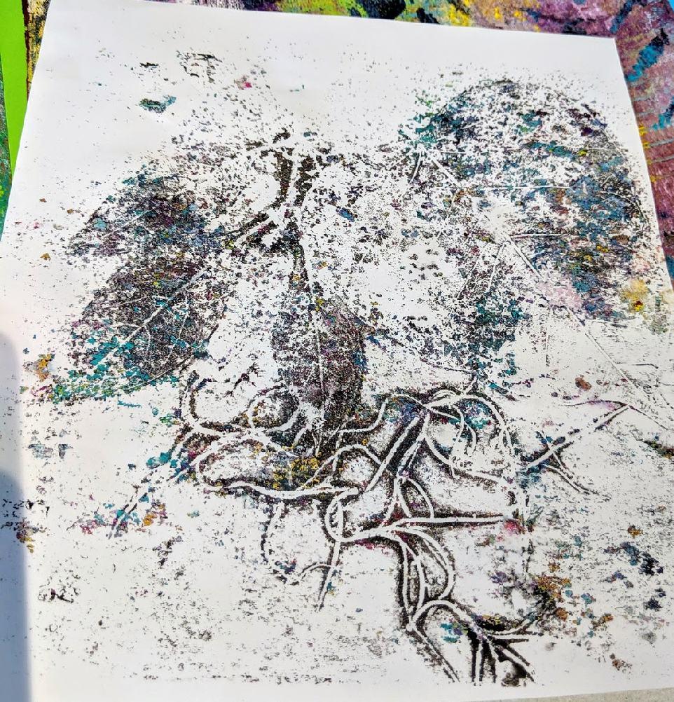 148: Nature Print/Gel Plate