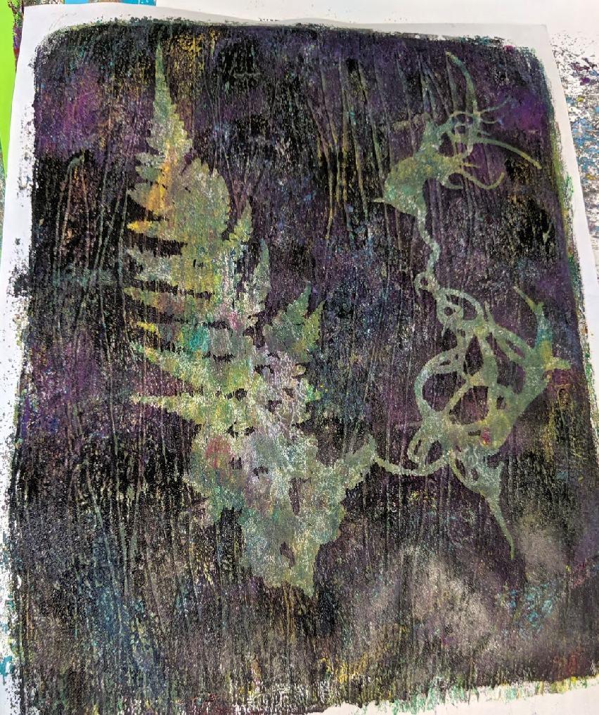 149: Nature Print/Gel Plate