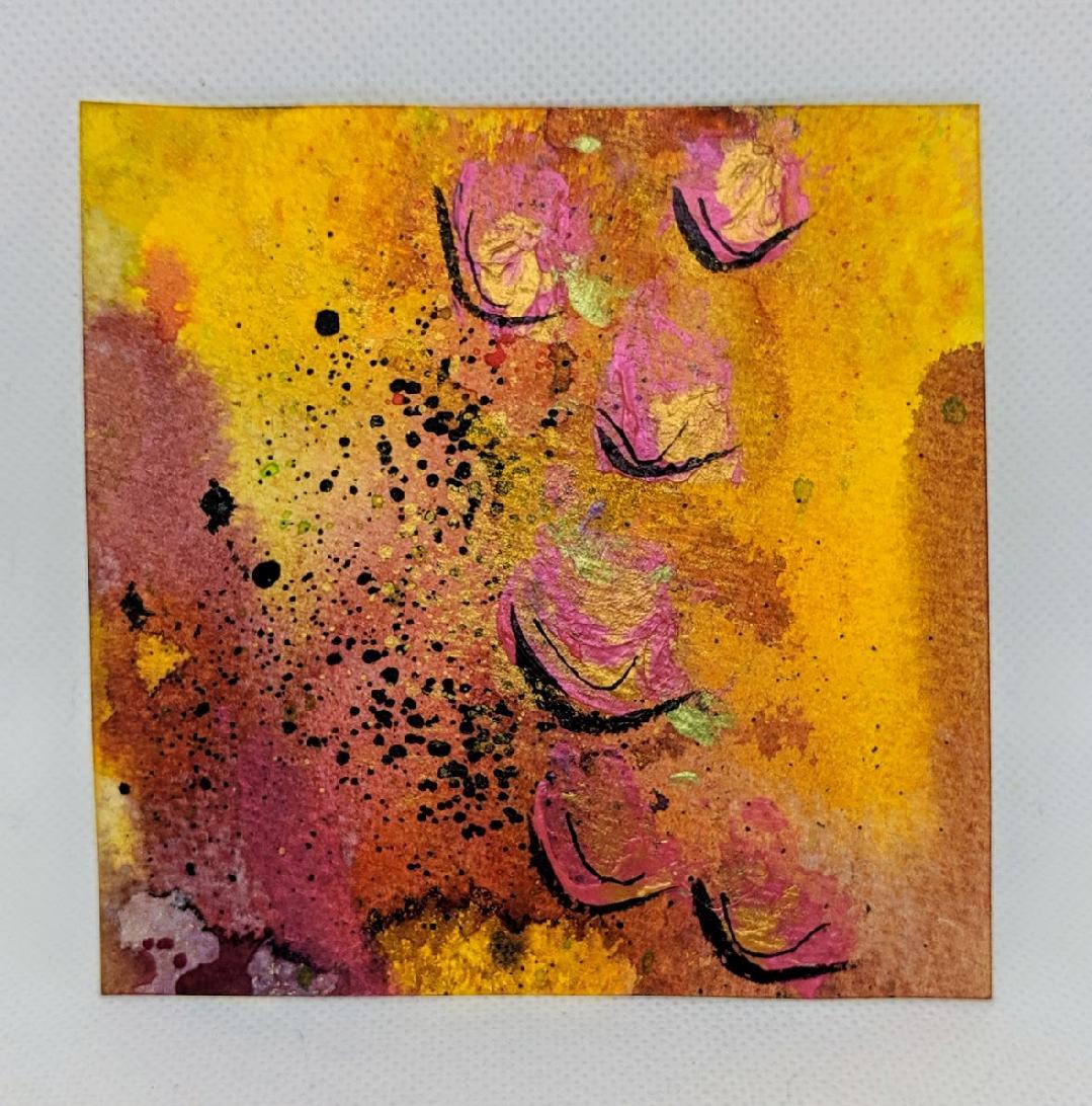 178: 4X4 watercolor squares
