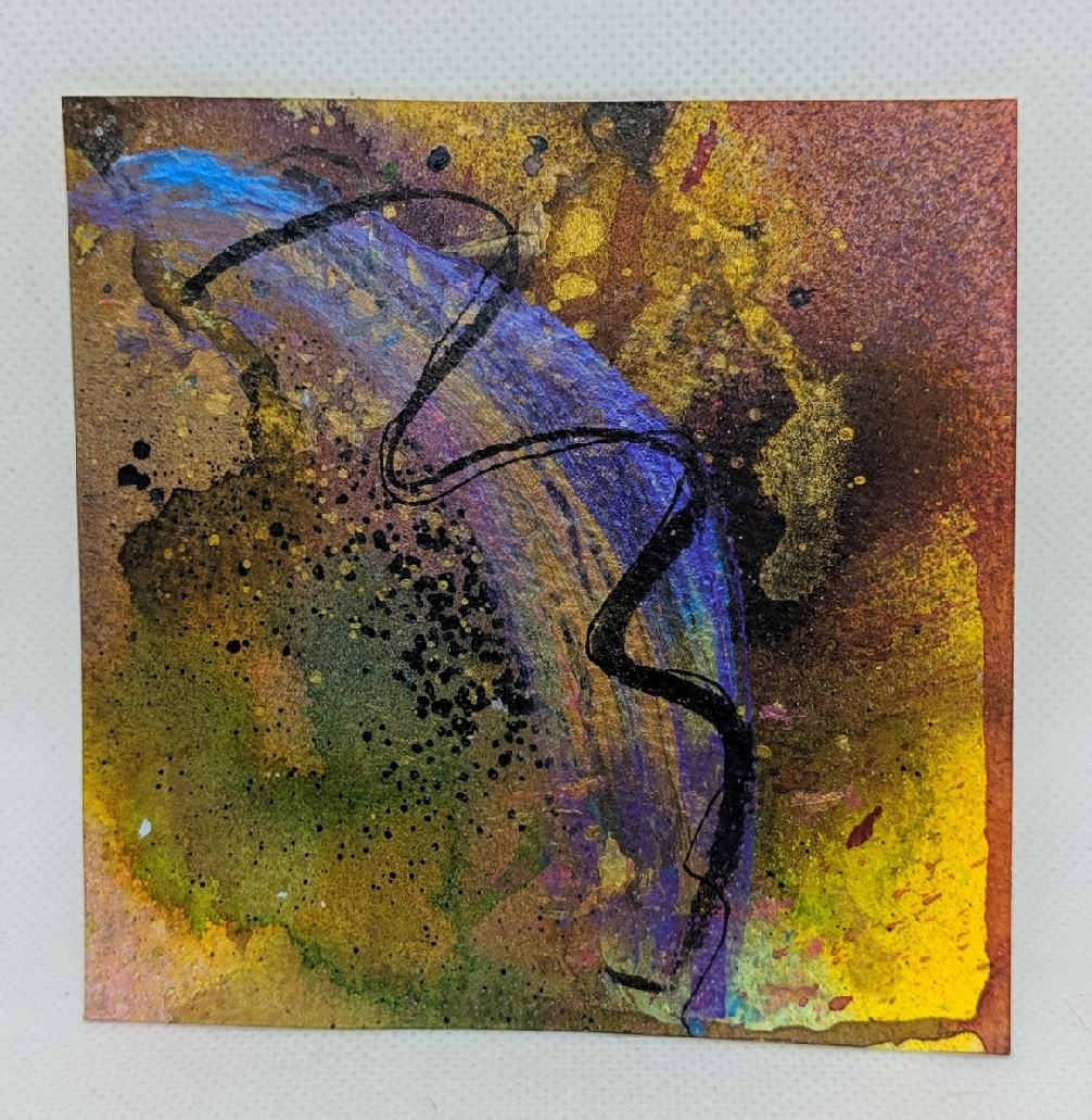 179: 4X4 watercolor squares