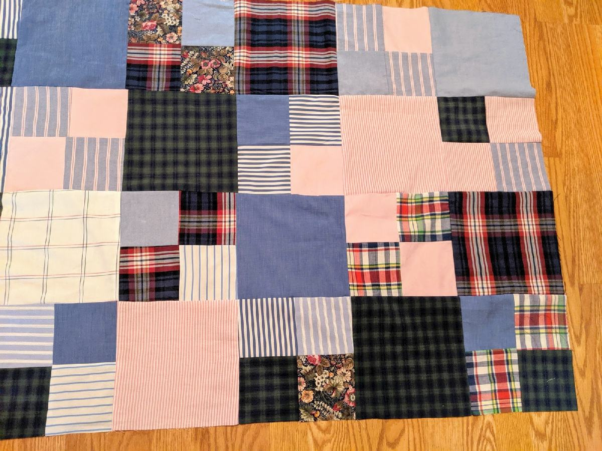 218: Four rows done!