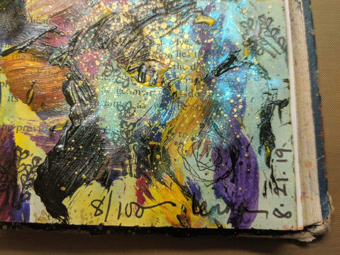 232: Day 8 of 100 steps art journaling
