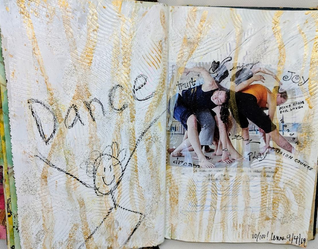 241: 10/100 Altered Book