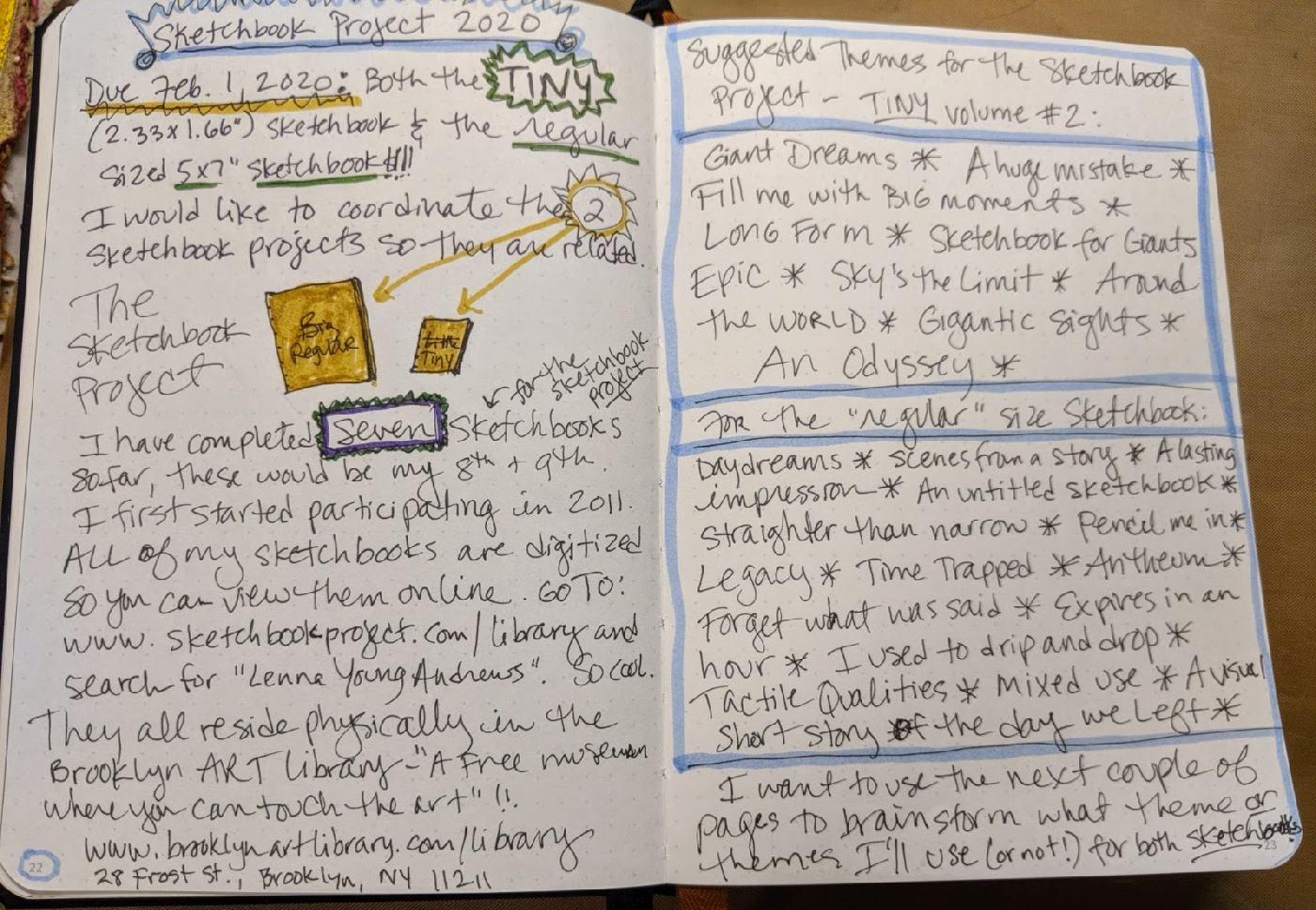 258: Bullet Journal #2