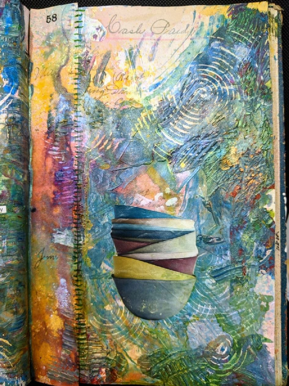 260: freeplay Altered Book