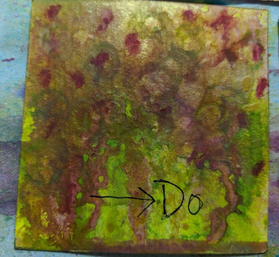 269: 3x3 watercolor card