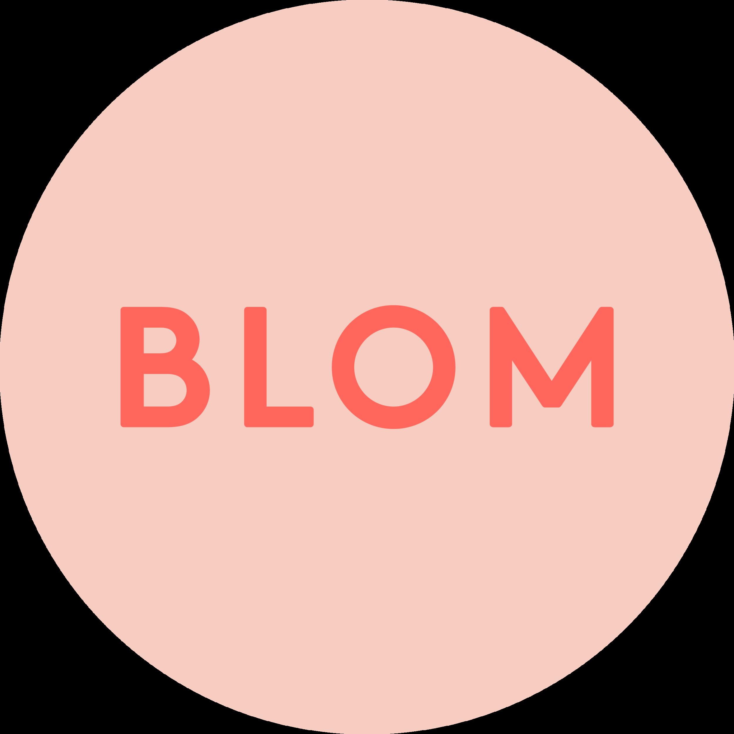 blom logo