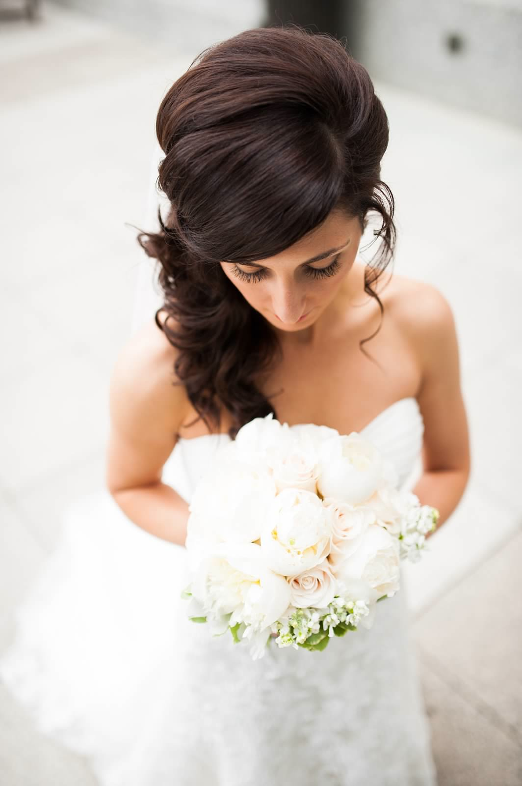 Bride with white peony bridal bouquet 3.jpg