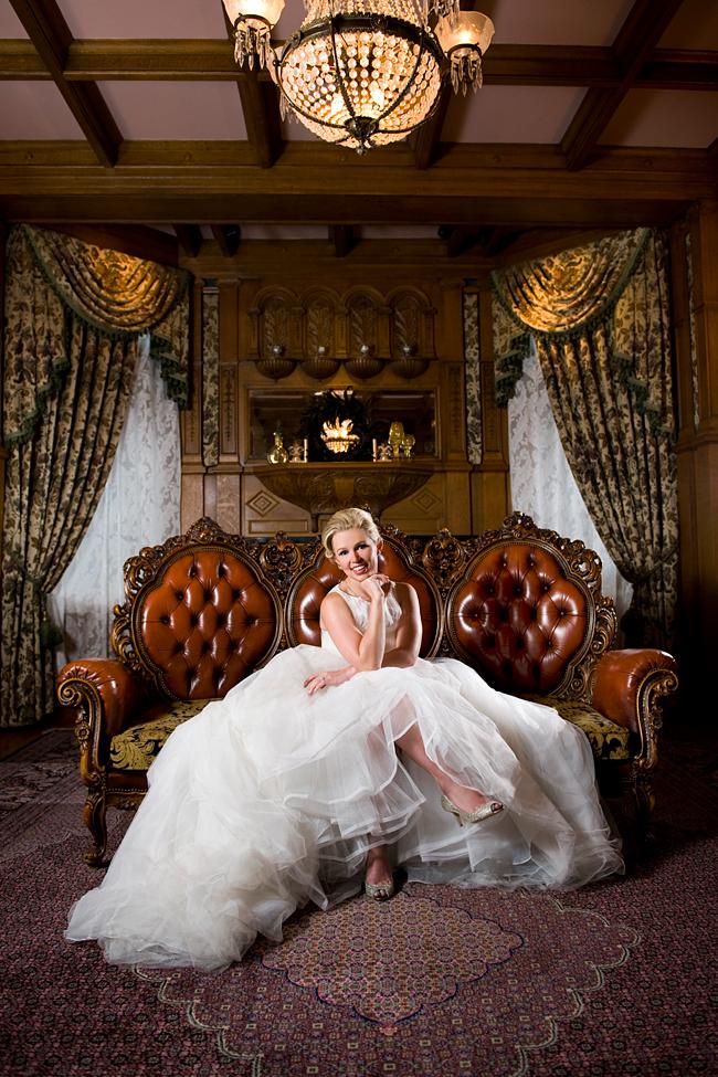 Grace Kelly bridal gown in Van Dusen Mansion