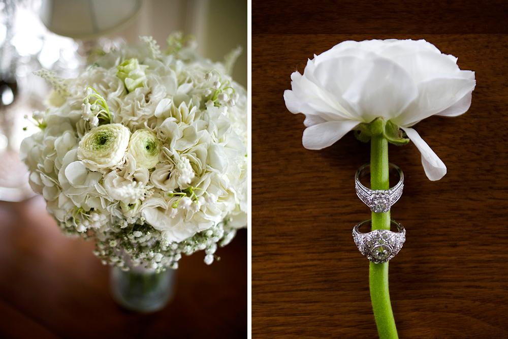 Grace Kelly wedding bouquet and jewelry