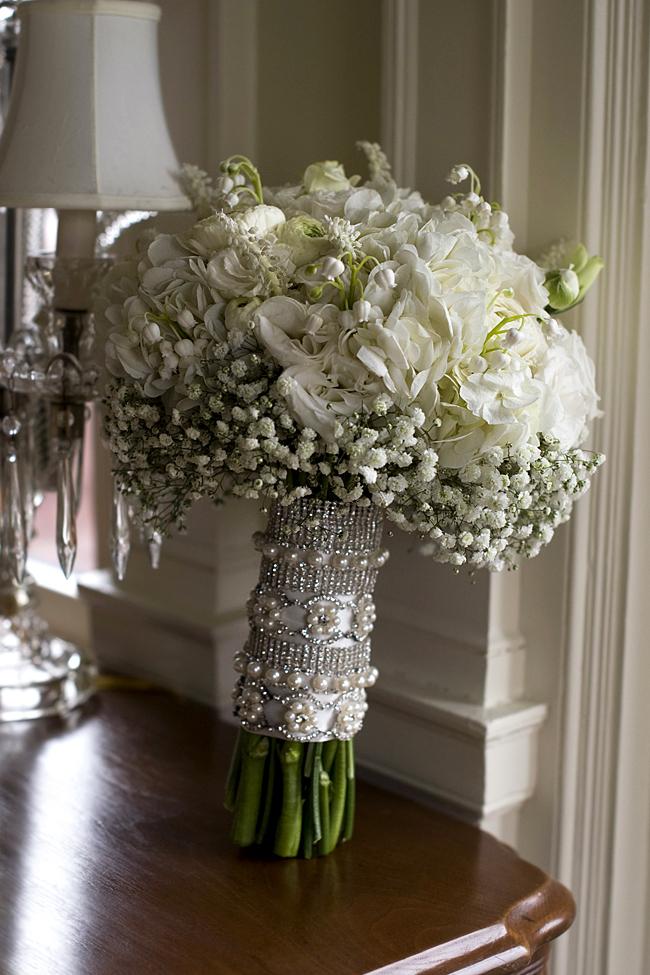 Grace Kelly Wedding Style bride's bouquet
