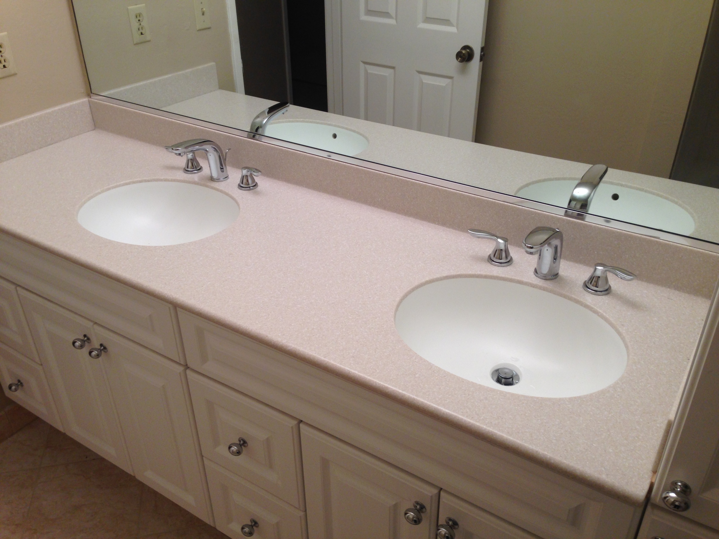 Dual Wide Spread Bathroom Grohe Faucet Install