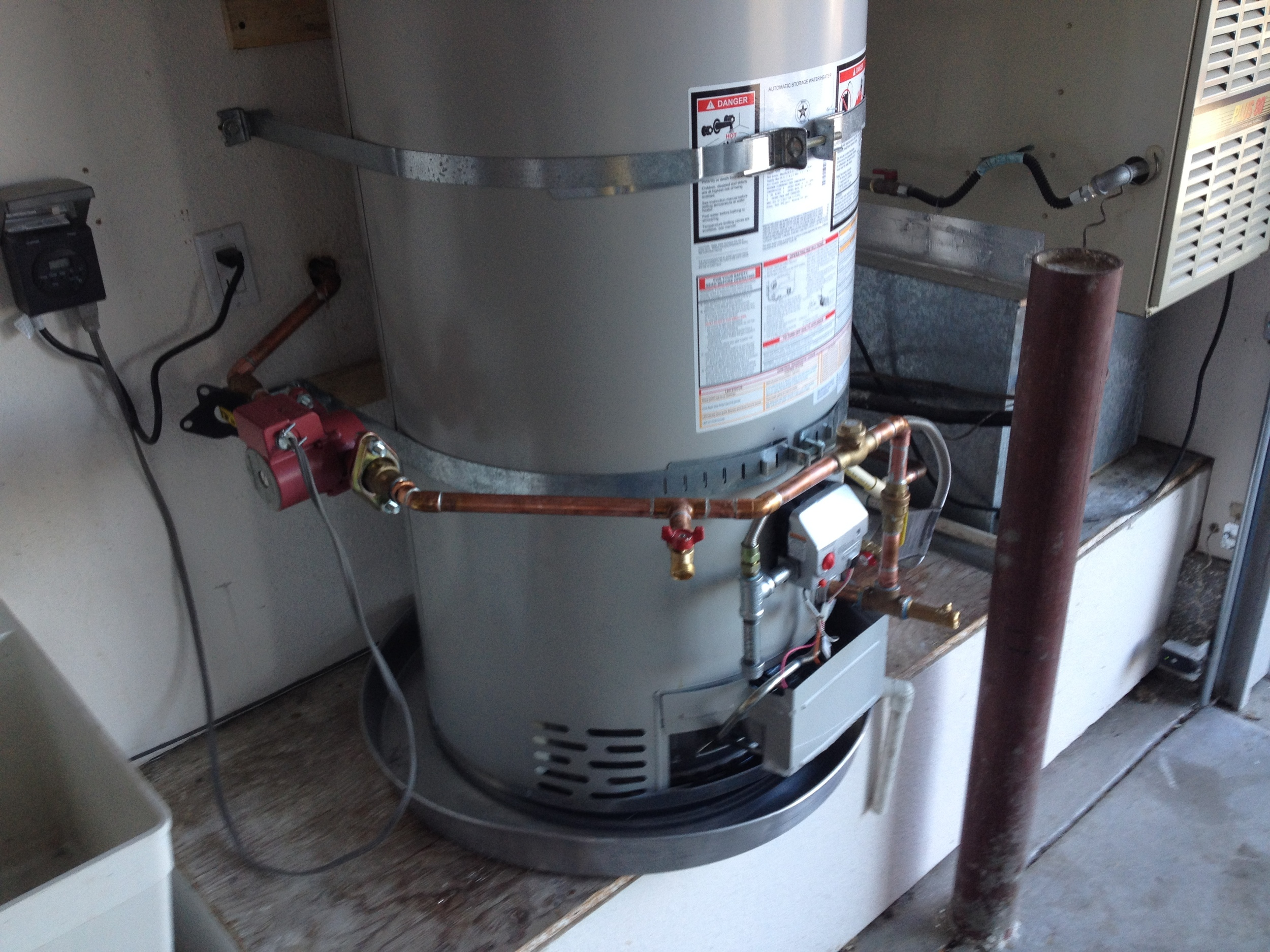 Water Heater Recirculation Pump Re-Build
