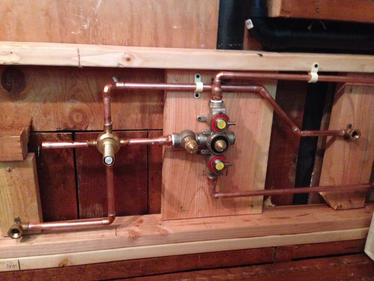 Rohl shower Valve and Diverter Install