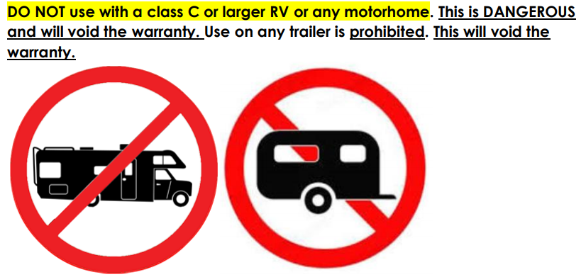 not for RV use.PNG