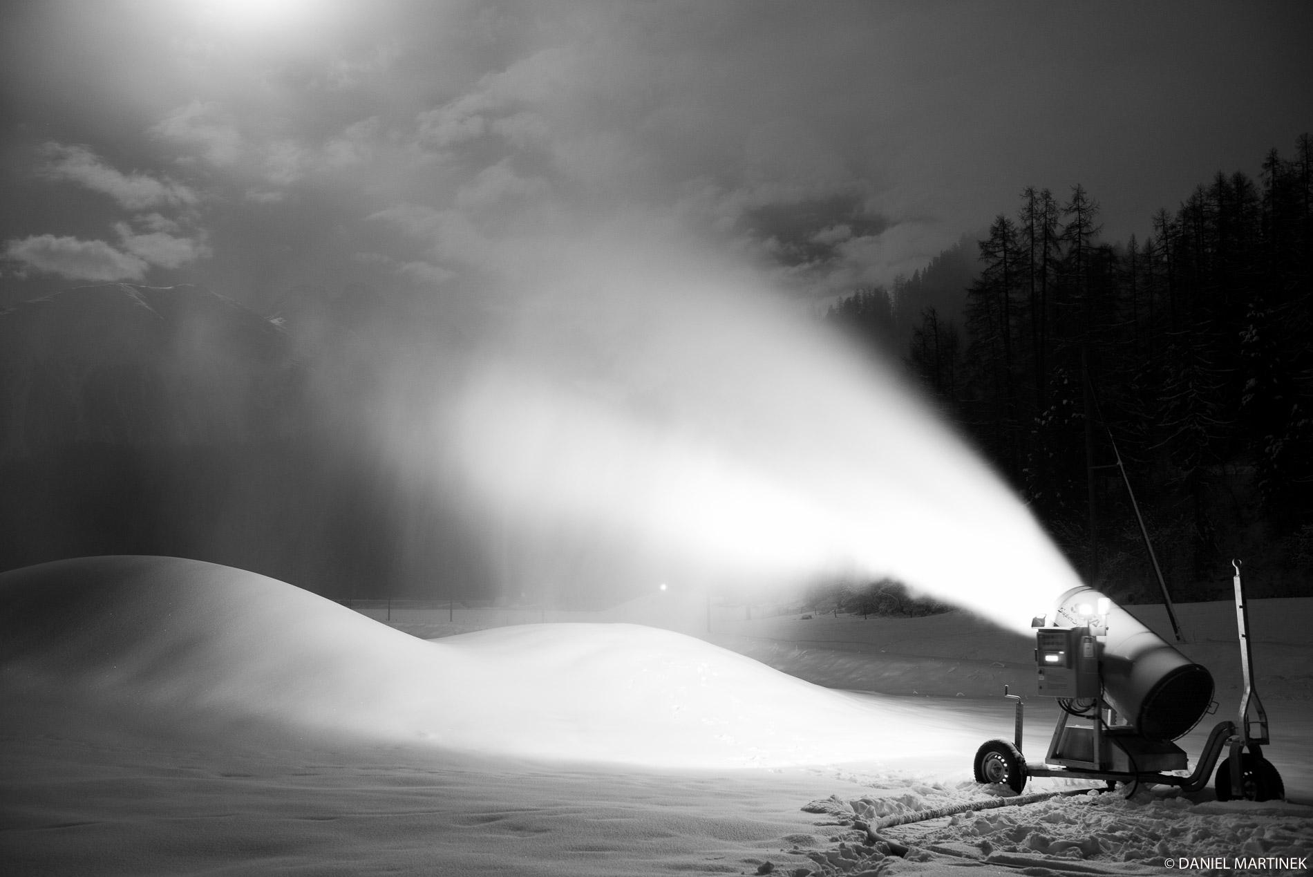 Il cannone della neve