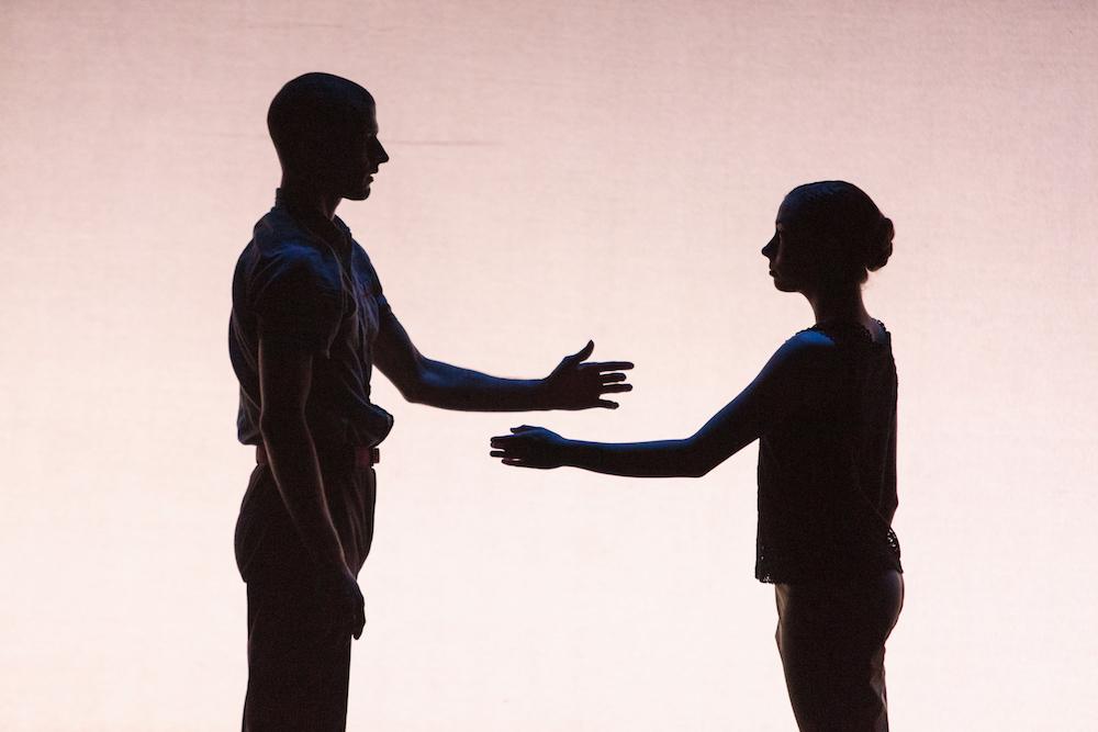 Kendall Teague and Amber Neumann in Penny Saunders'  Joe & Ida.