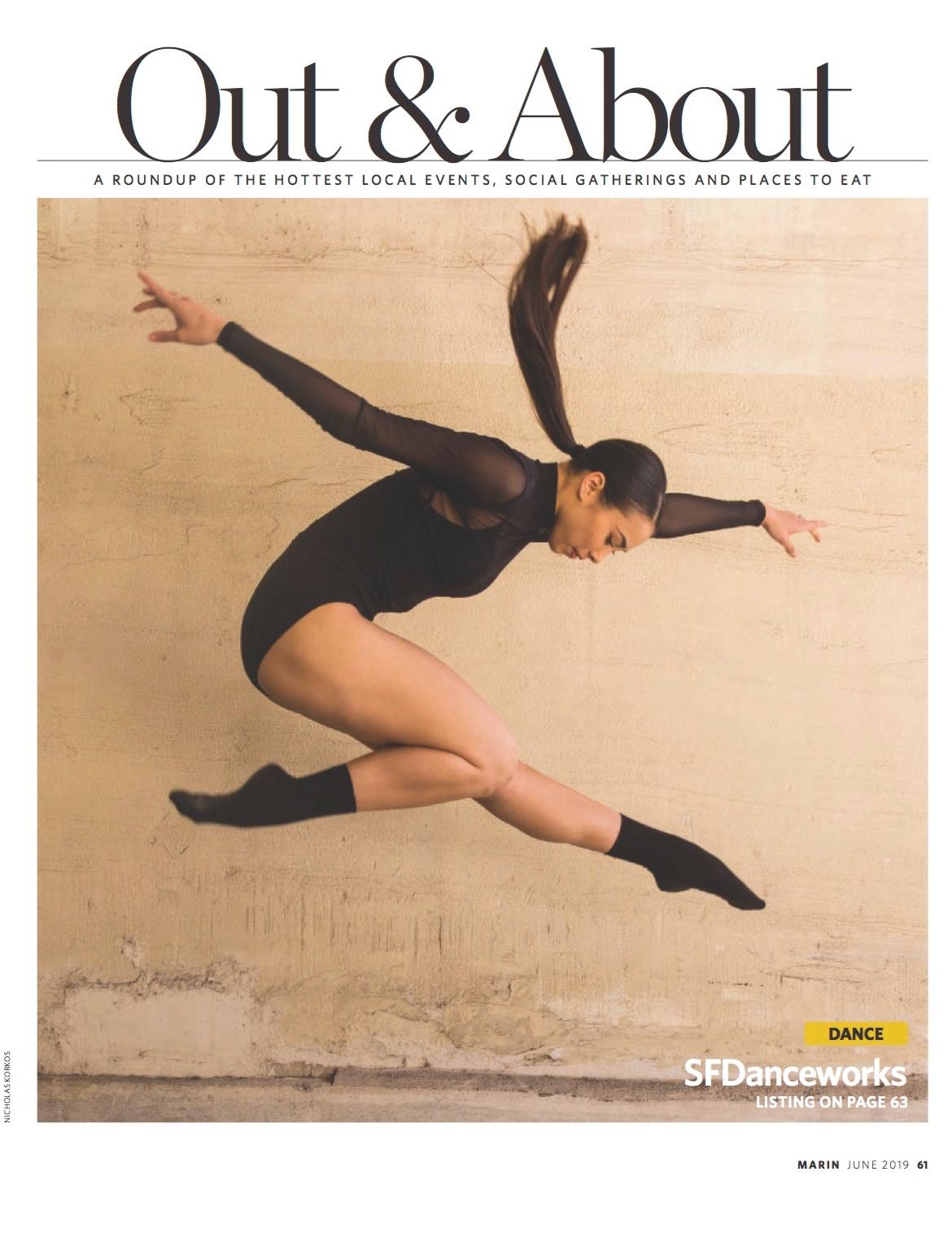 Marin Magazine June 2019. Click to view.