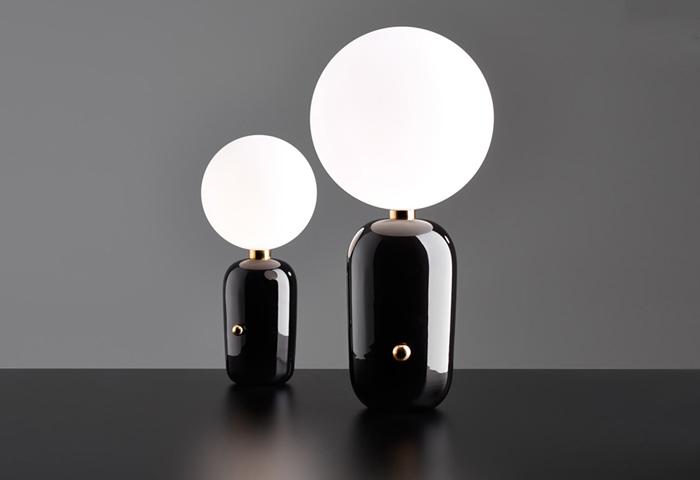 Aballs table lamp by Spanish designer Jaime Hayón