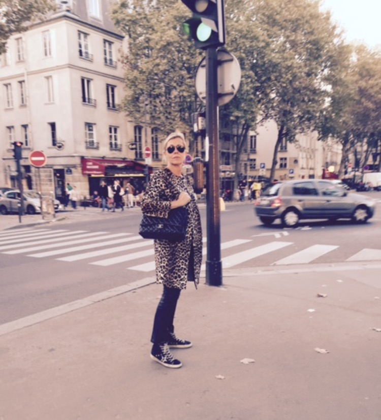 Me, on a lovely autumn day in Paris wearing one of my favourite coats, .....keeping it simple. Other than my   MAXMARA   coat I am wearing   Golden Goose   sneakers,   Chanel   bag,   Jitrois leather pants   and   North.dk   T-shirt.