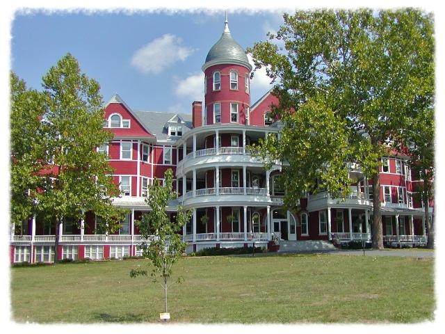 Main Hall at Southern Virginia University, Buena Vista