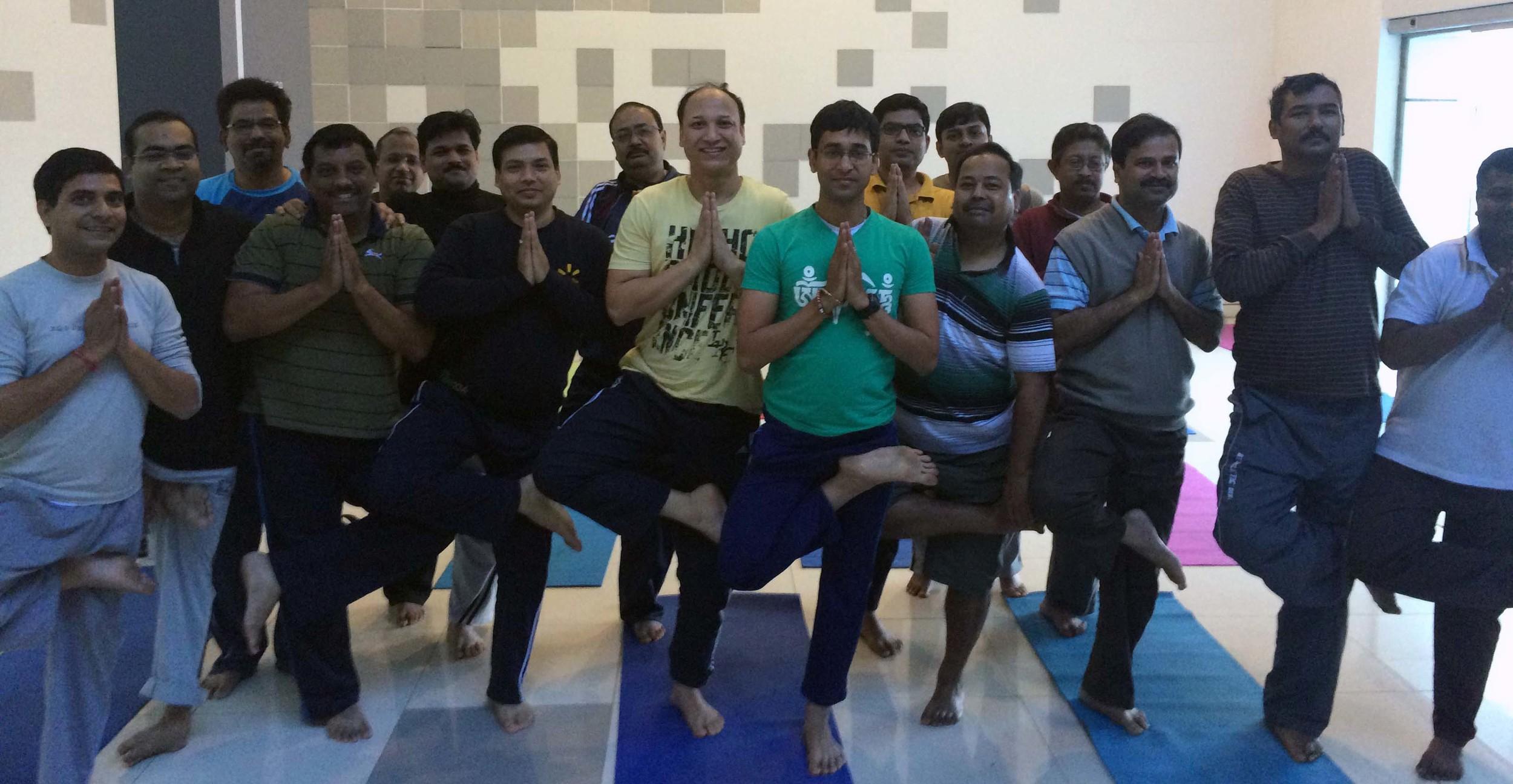 Mystic Yoga for RPEG-Sanjiv Goenka Group