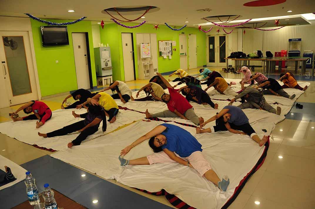 Mystic Yoga for PWC