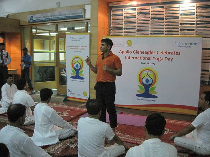Mystic Yoga at Apollo Hospitals