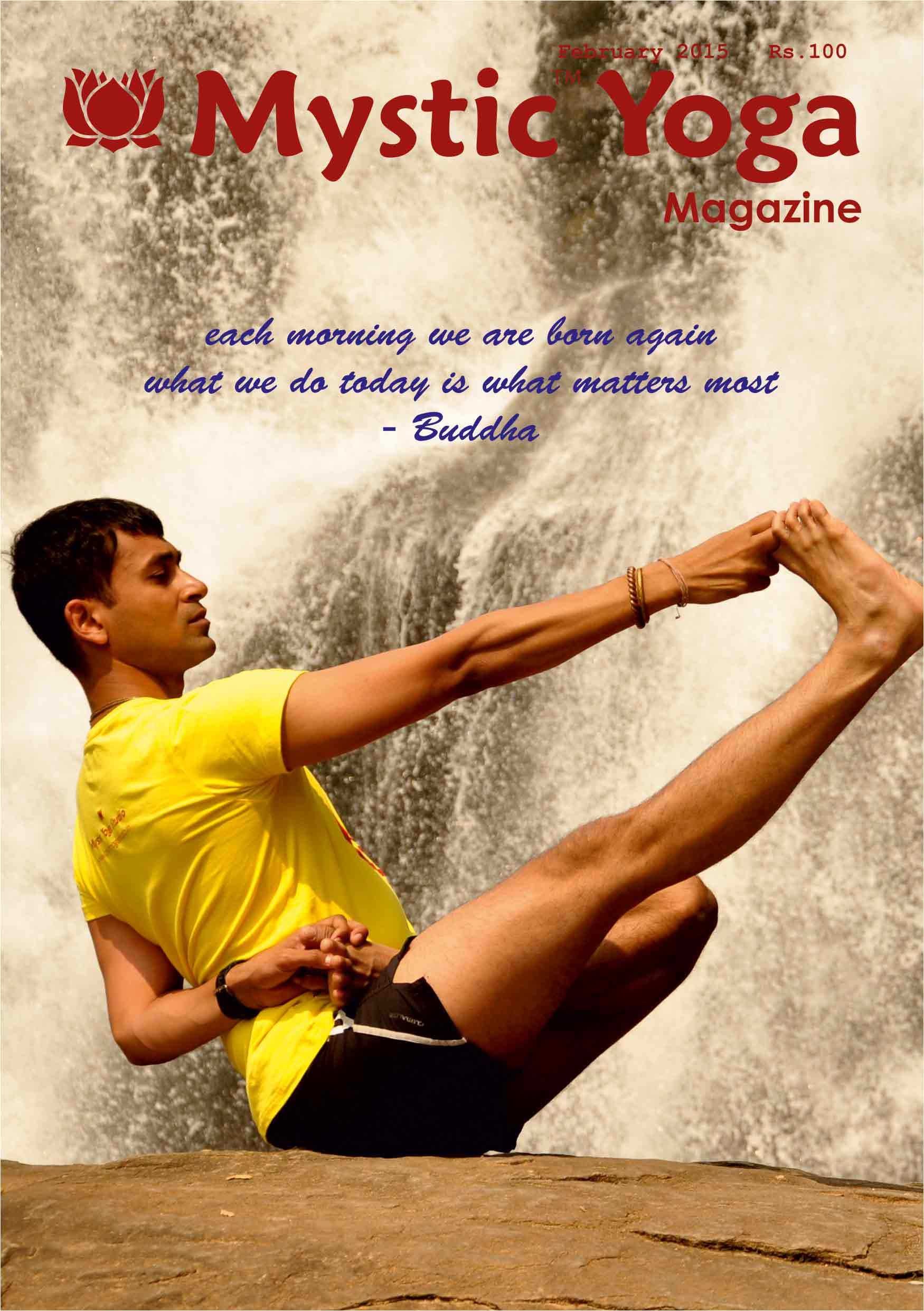Mystic Yoga Magazine - February 2015