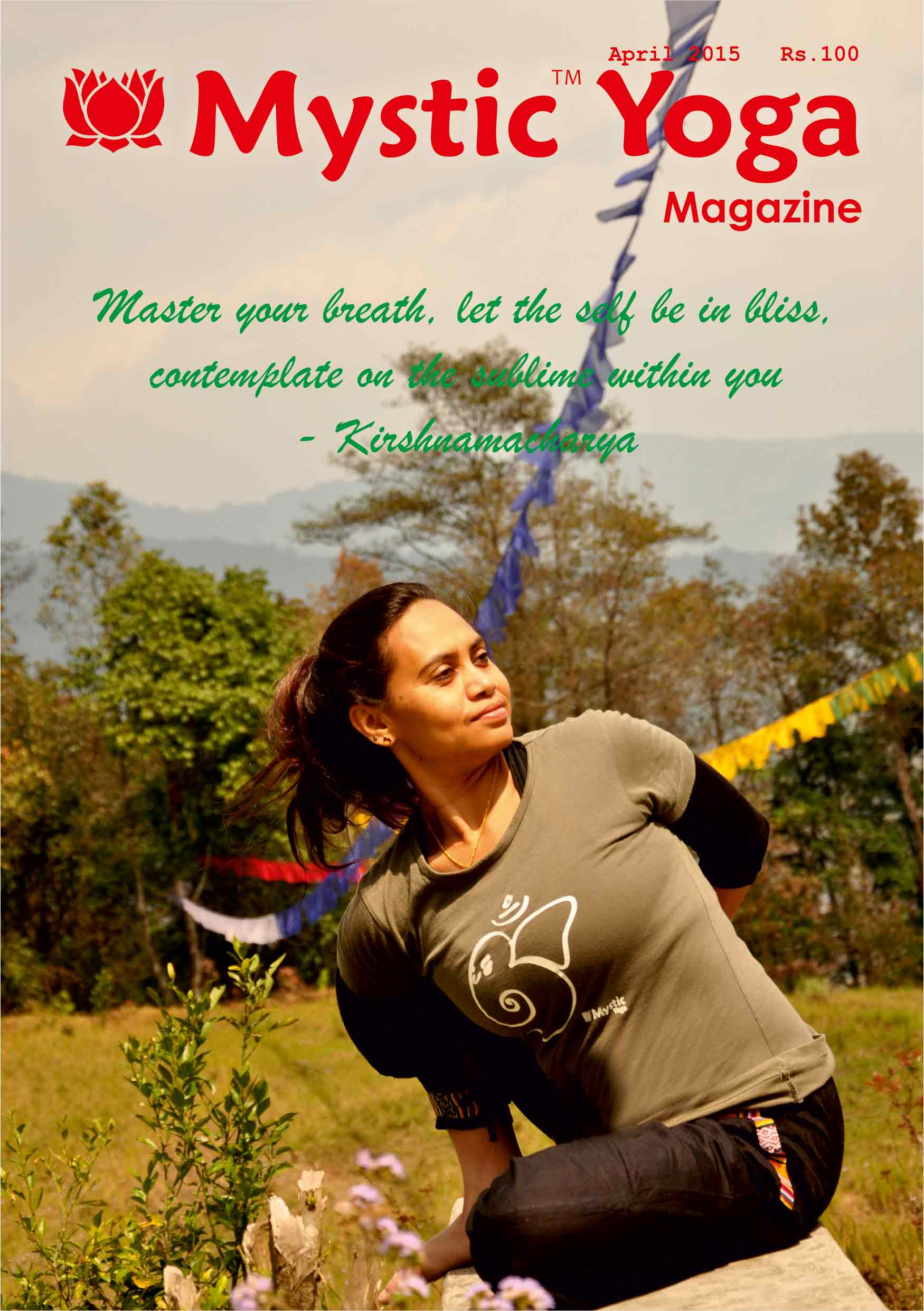 Mystic Yoga Magazine - April 2015