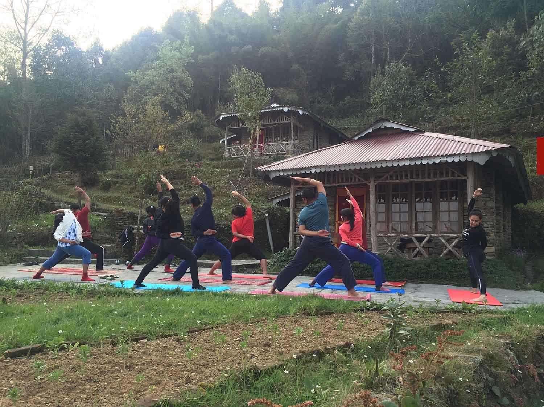 Mystic Yoga Retreat - Ravangla - March -2016 - 02.JPG