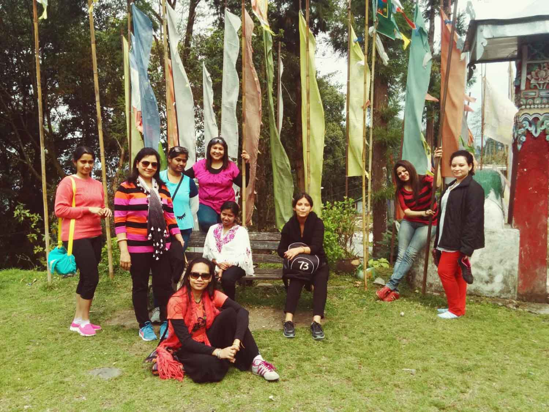 Mystic Yoga Retreat - Ravangla - March -2016 - 10.JPG