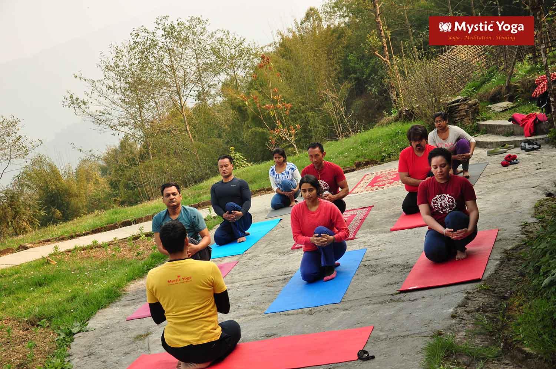 Mystic Yoga Retreat - Ravangla - March -2016 - 12.JPG