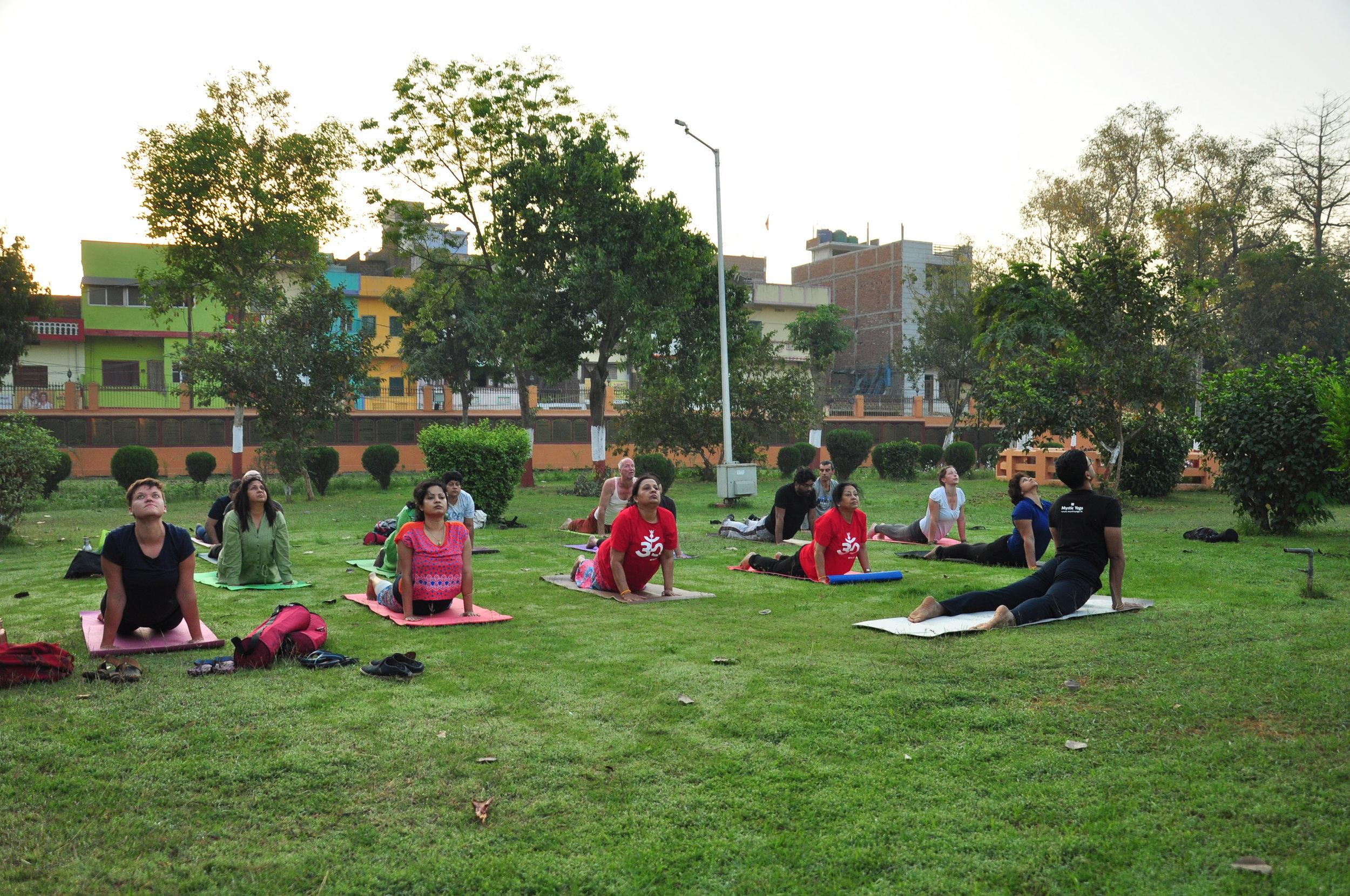 Yoga and Hypertension - Mystic Yoga Retreat Bodhgaya.JPG