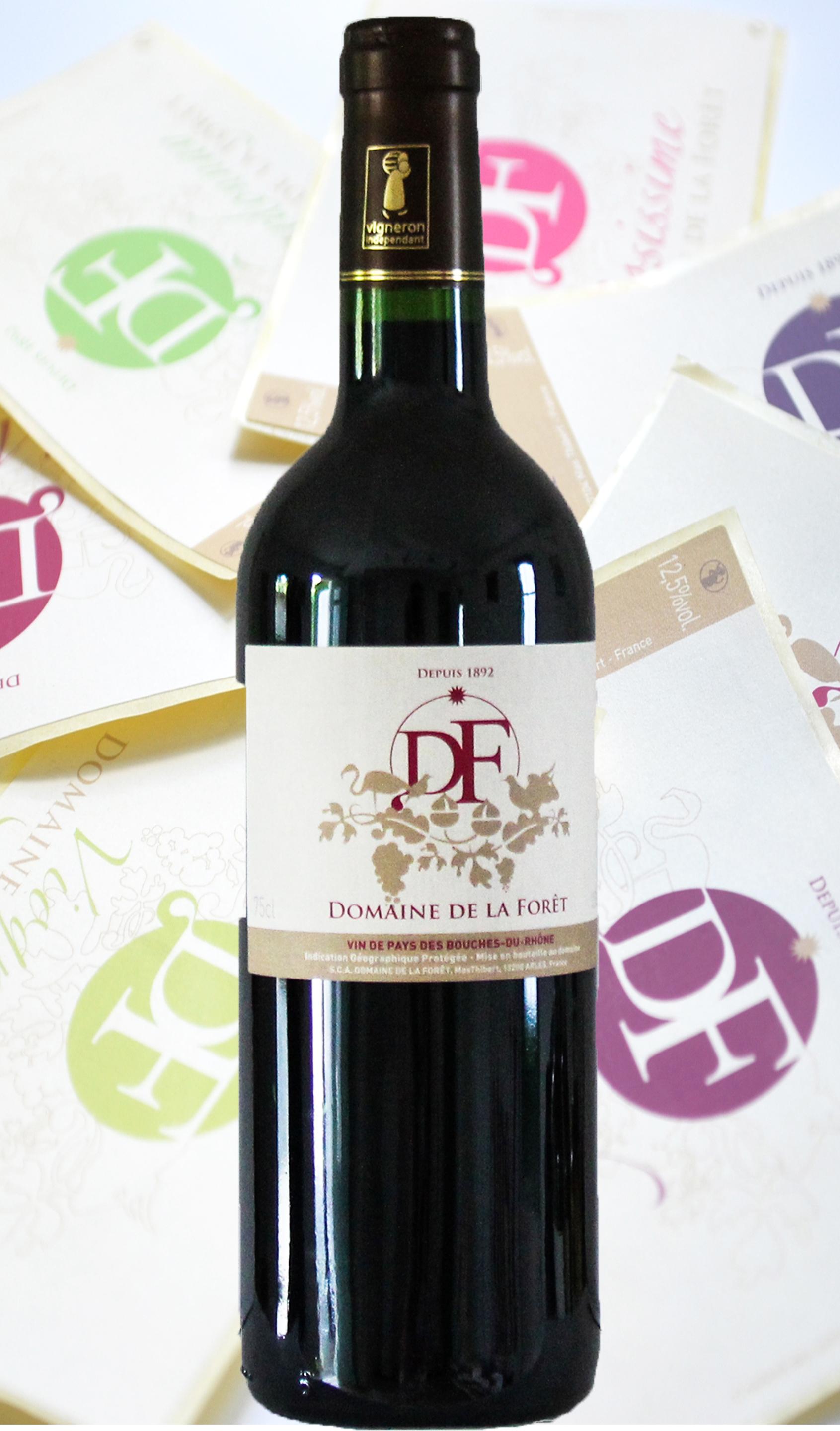 Vin rouges du Domaine de la Forêt