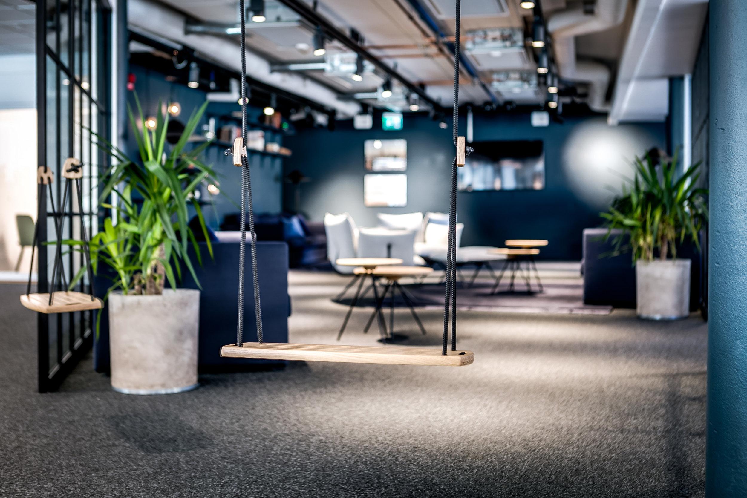 Detalj lounge. Foto: Henrik Nero