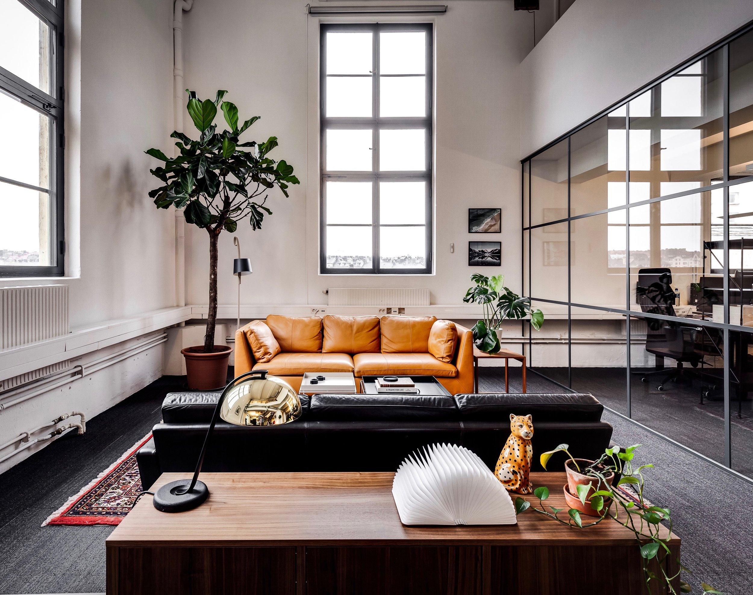 Loungedel. Foto Petter Fällström.