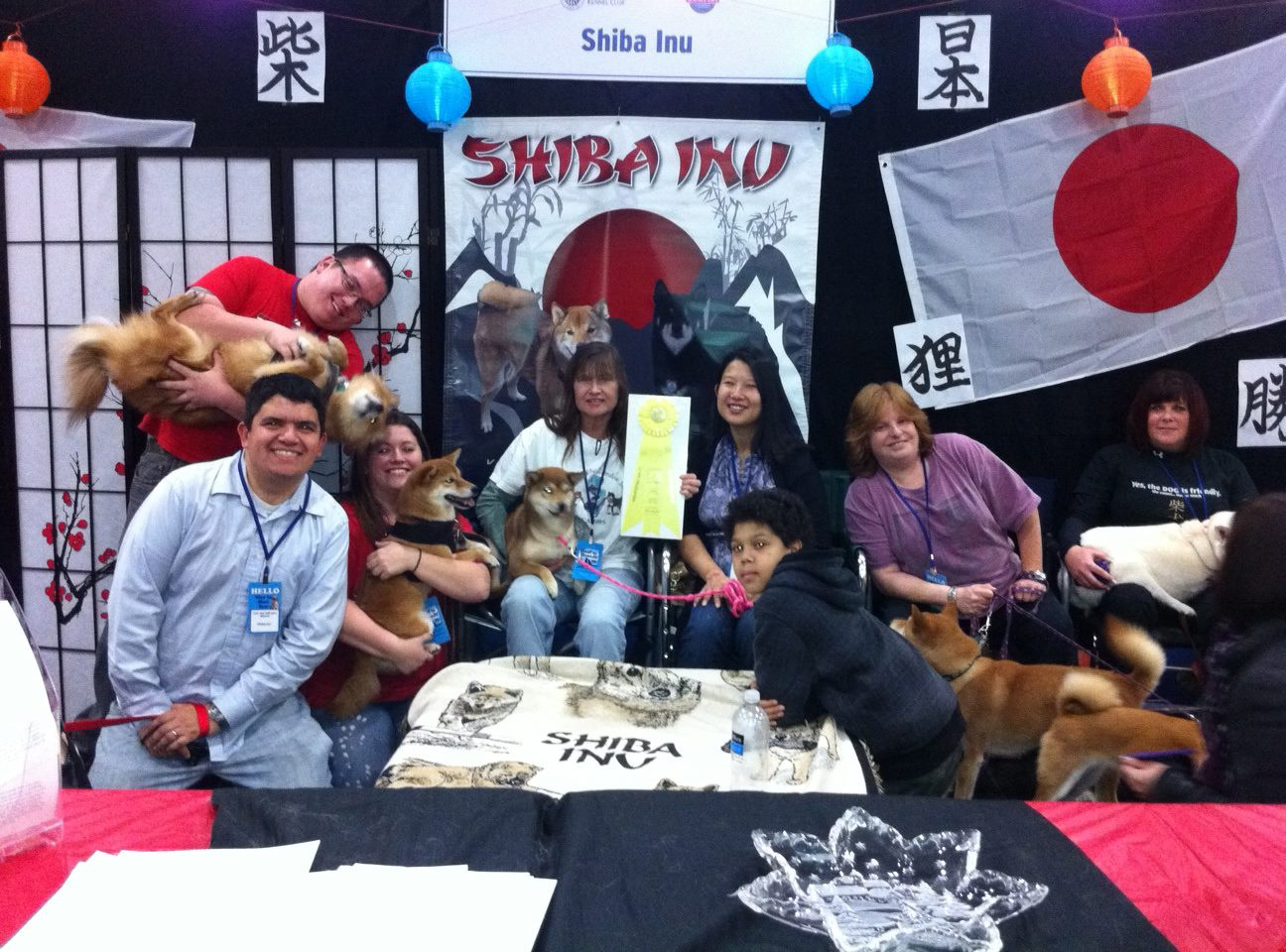 AKC NYC Meet the Breeds Booth - Third Place!
