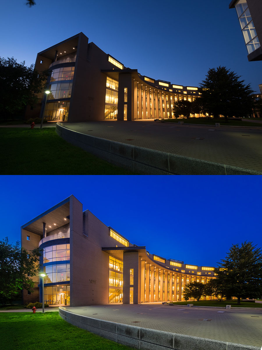Olin College Blue Hour