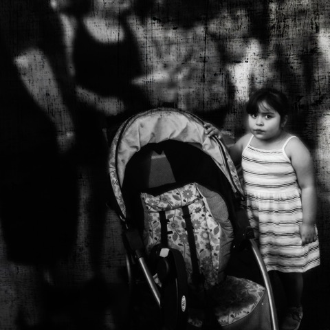 Faces in the Crowd: The Child (c) Joyce Saler