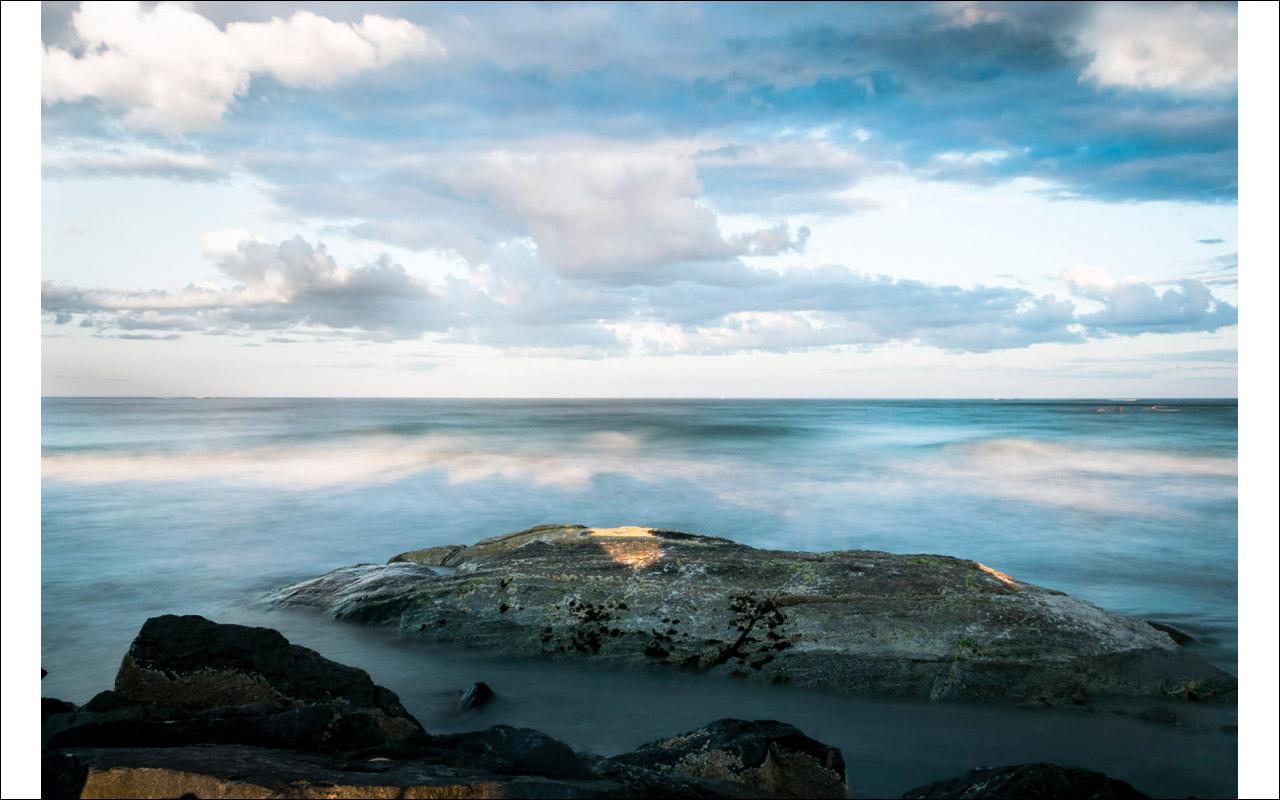 Moonrise, Hampton Beach (c) Deb Lannon