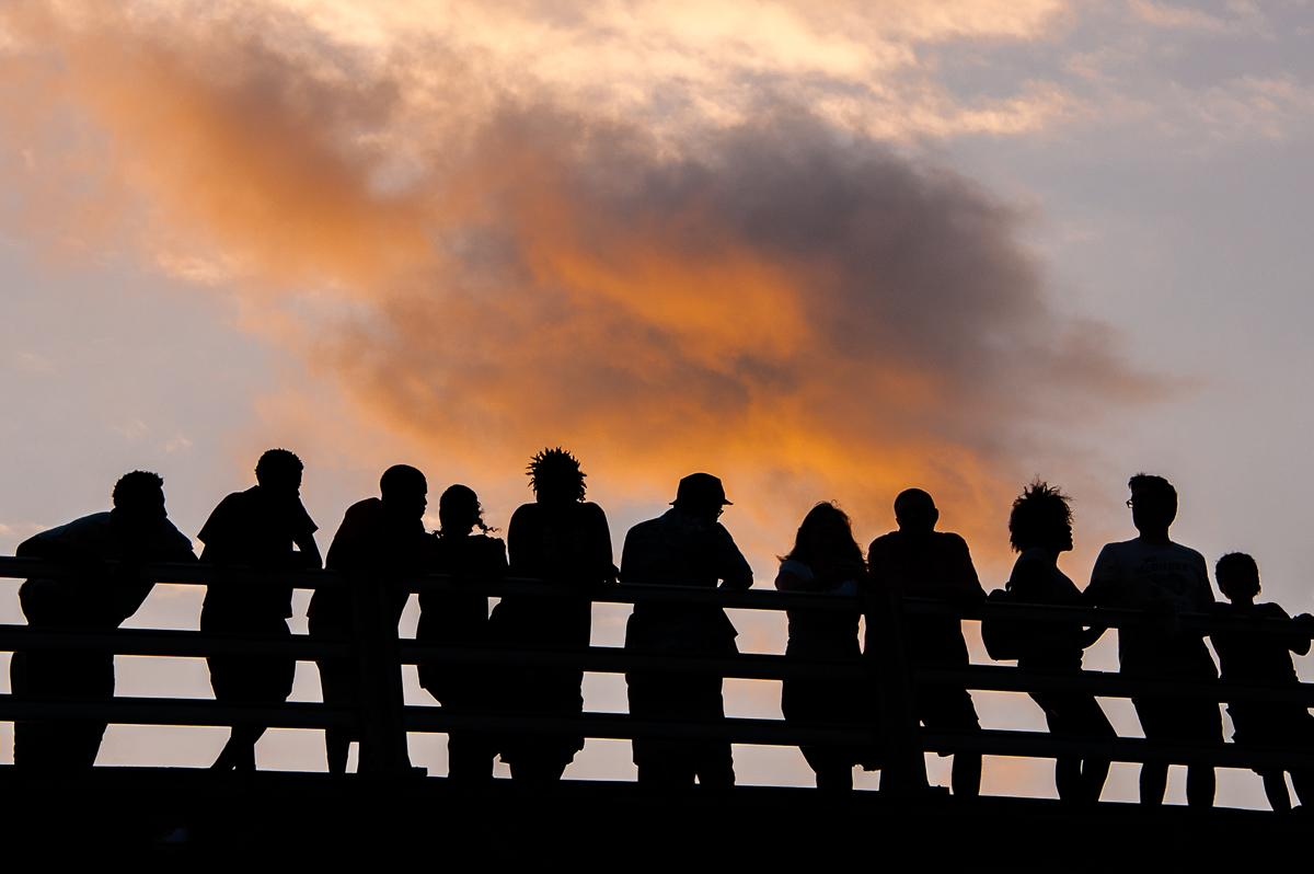 Bridge People (c) William Daniels