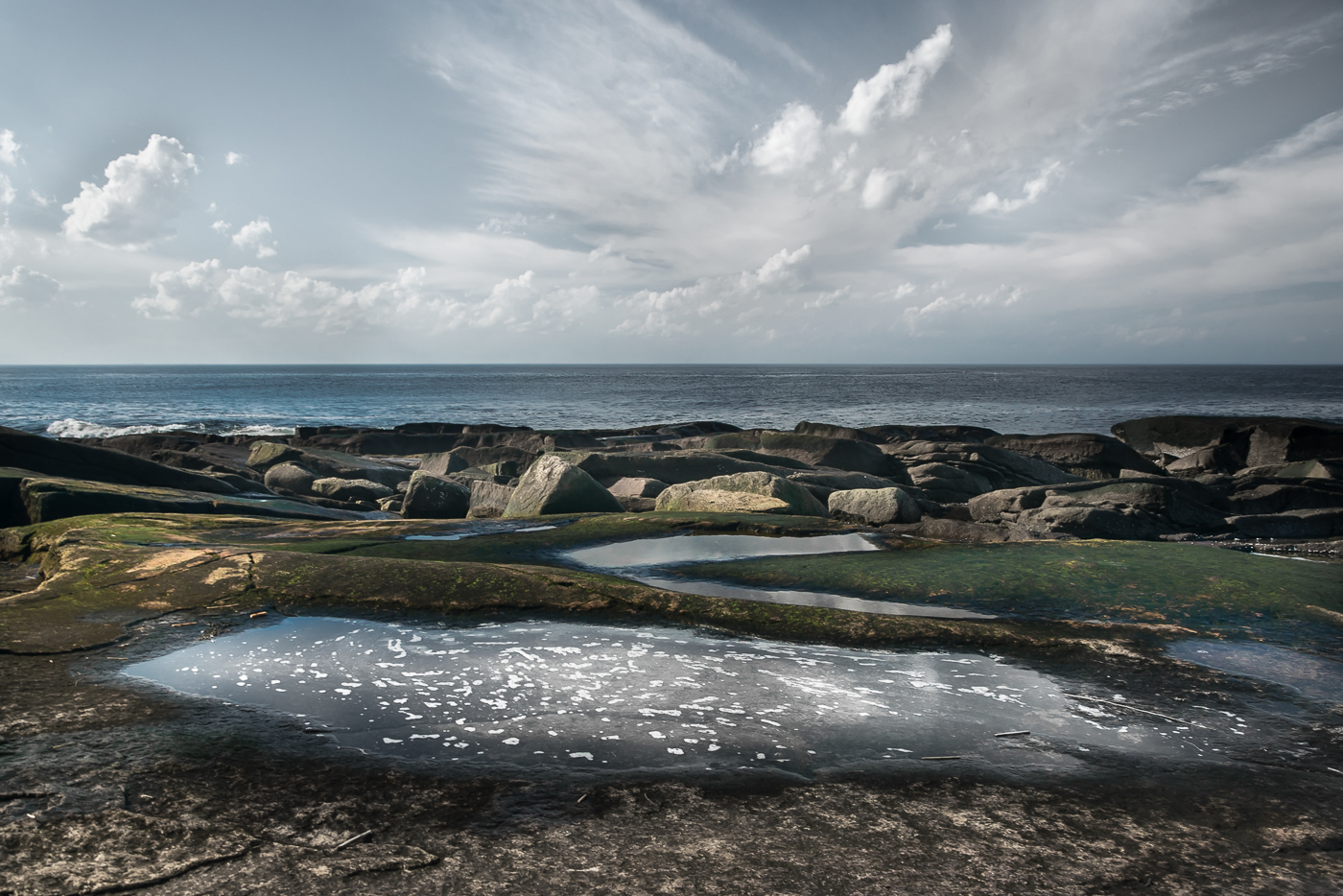 Low Tide, Halibut Point 2017  (c) Deb Lannon