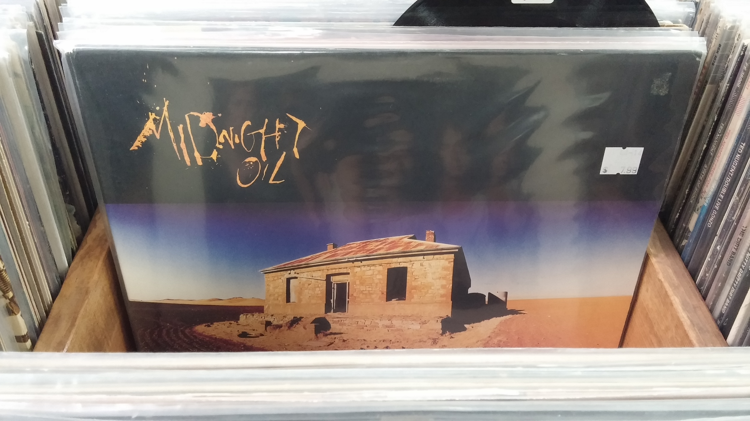 "$7.99 is a steep asking price for Midnight Oil's ""Diesel & Dust"", but there is a lot of care in the presentation."