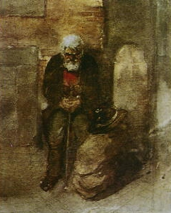 """The Poor Jew"" by Viktor Hartmann"