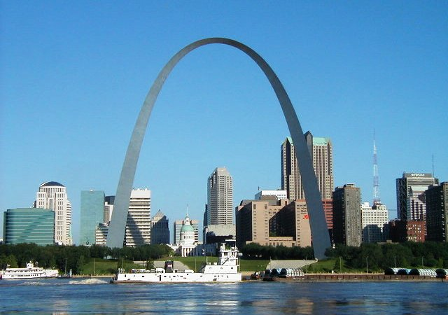 The Gateway Arch Riverfront