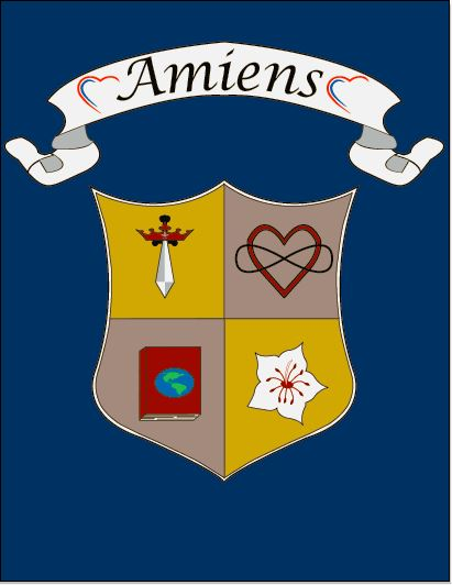 Amiens  is named for the city in northern France where Madeleine Sophie Barat opened the first school of the Society of the Sacred Heart.
